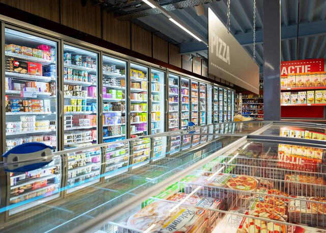 Koelingen supermarkt