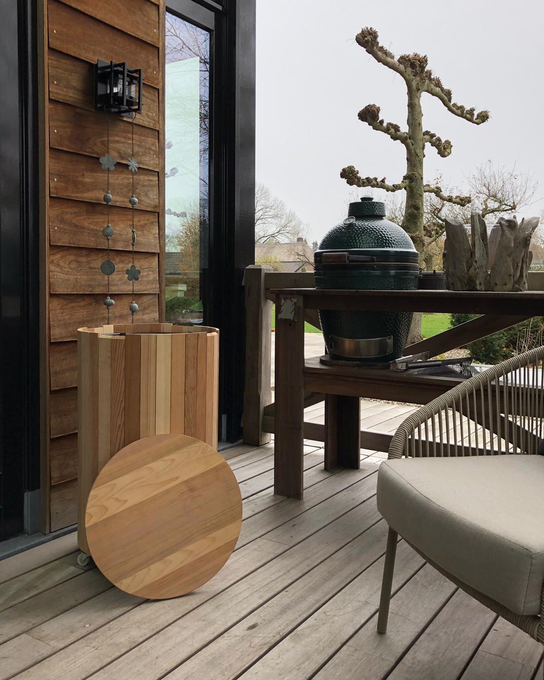 Gardesso tuinkoelkast veranda