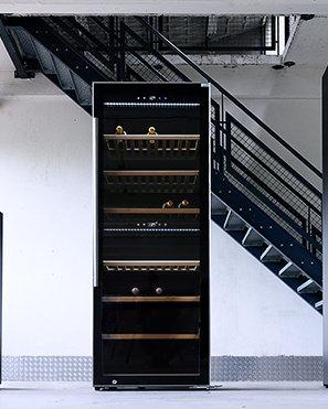 Wijnklimaatkast voor 140 flessen