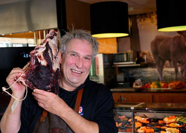 Slager-met-dry-aged-vlees