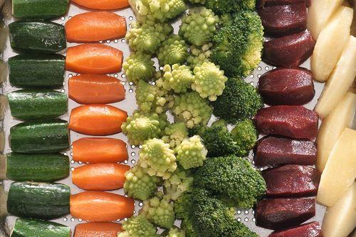 Groente in gastronormschaal